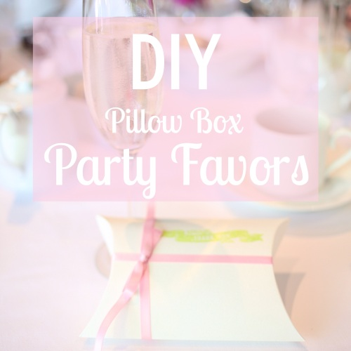 DIY Party Favors