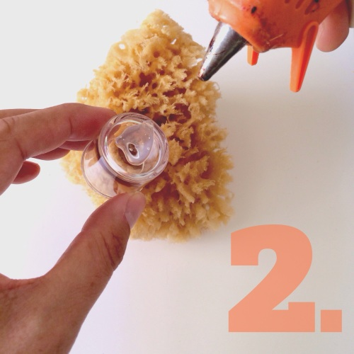 DIY Faux Coral Candlestick Holders