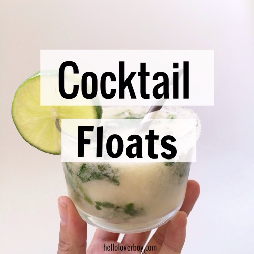 Cocktail Floats