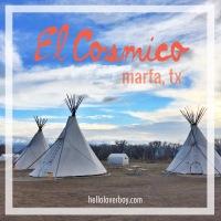 El Cosmico, Marfa Texas